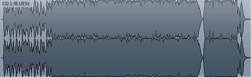 waveform CD master